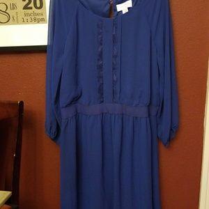 Royal blue Jessica Simpson dress